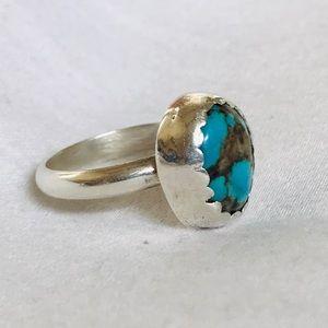 Navajo Turquoise Ring
